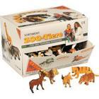 Legetøjsdyr, assorteret [104 stk]
